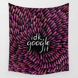 I don't know, Google it - Burgundy on Black Wall Tapestry