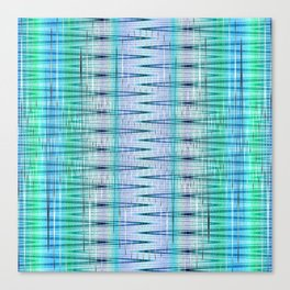 pattern blue no. 4 Canvas Print