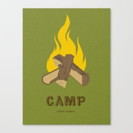 Childish Gambino - Camp Canvas Print