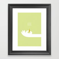 World's Smallest Violin Framed Art Print