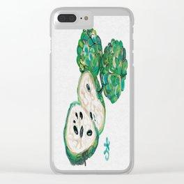 Sweet Sop Sugar Spring Clear iPhone Case