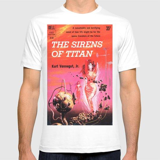Vonnegut -  The Sirens of Titan T-shirt