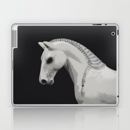 Horse with a Braided Mane Laptop & iPad Skin