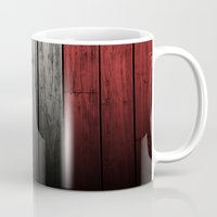 france Mugs featuring France by Nicklas Gustafsson