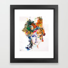 Untouched Presence Framed Art Print