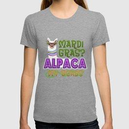 Mardi Gras Parade 2019 Beads Party Shirt Gift Idea Light T-shirt