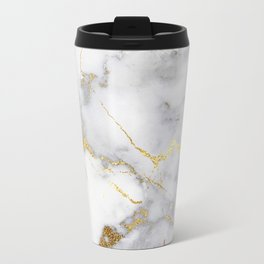 Italian gold marble Travel Mug