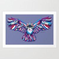 Resistance Owl Art Print