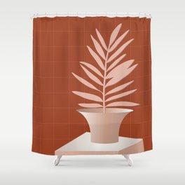 Lola Pot #2 Shower Curtain