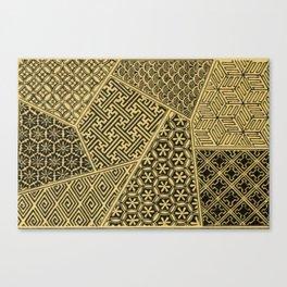 Japanese Patterns Canvas Print