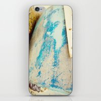 cape cod iPhone & iPod Skins featuring cape cod blue by Finch & Maple