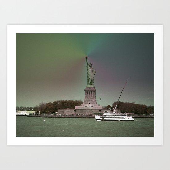 New York in 20 pics - Pic 9. Art Print