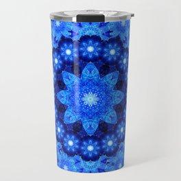 Lapis Crown Mandala Travel Mug