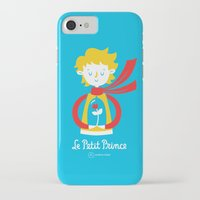 le petit prince iPhone & iPod Cases featuring Le Petit Prince by Andrea Tobar