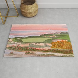 Spyglass Hill Golf Course Hole 3 Rug