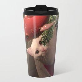 Meowy Christmas 1 Travel Mug