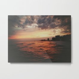 Atlantic City ain't so shitty. Metal Print