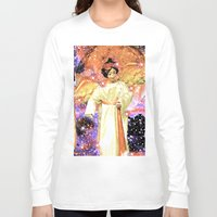 angels Long Sleeve T-shirts featuring Angels by Saundra Myles