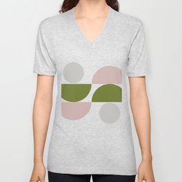Geometric Shapes #fallwinter #colortrend #decor Unisex V-Neck