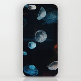 Jellyfish Cells (Color) iPhone Skin