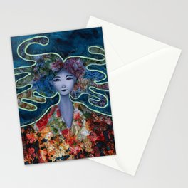 Mystic Bloom Stationery Cards