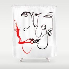 140102-2 LEROY Shower Curtain