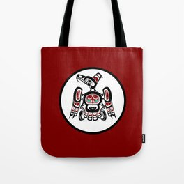 Northwest Pacific coast Kaigani Thunderbird Tote Bag