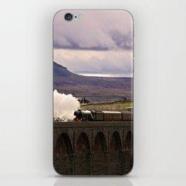 Flying Scotsman at Ribblehead iPhone Skin