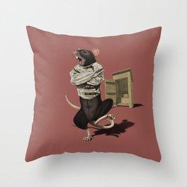 Shithouse (Colour) Throw Pillow