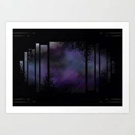 Fragment Sky Art Print