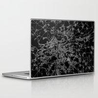 prague Laptop & iPad Skins featuring Prague by Line Line Lines