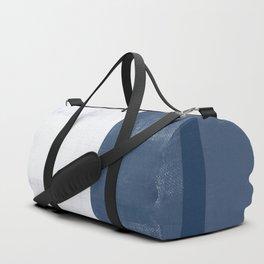 Case Study No. 37 | Navy + White Duffle Bag