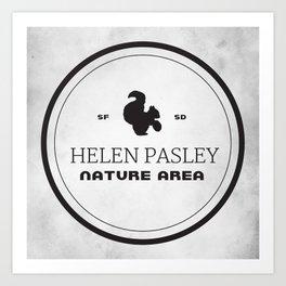 Helen Pasley Nature Area Art Print