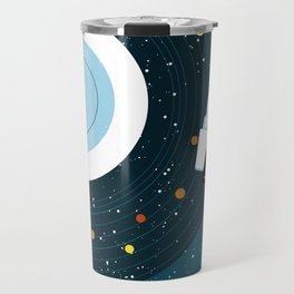 Space Vinyl Travel Mug
