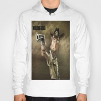 rick grimes Hoodies featuring The Walking Dead   Rick Grimes by AnkitS