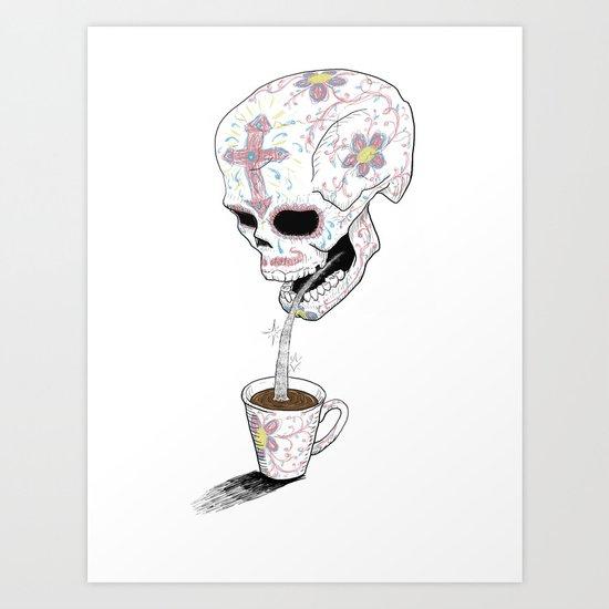 Mas Azucar Art Print
