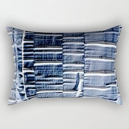 Negative Patch Job Rectangular Pillow