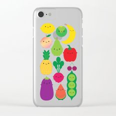 5 A Day Clear iPhone Case