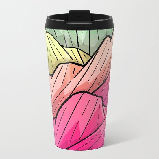 Candy Colour Mounts Metal Travel Mug