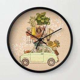 Pleasant Balance III Wall Clock