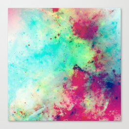 Join The Heavens - Abstract Space Painting Canvas Print