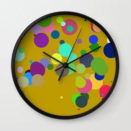 Circles #10 - 03152017 Wall Clock