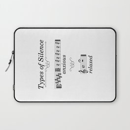 Types of silence Laptop Sleeve