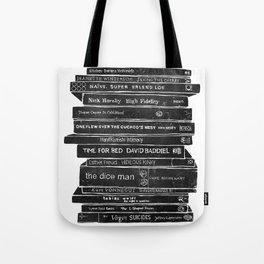 Mono book stack 1 Tote Bag