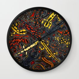 Salamanders Wall Clock