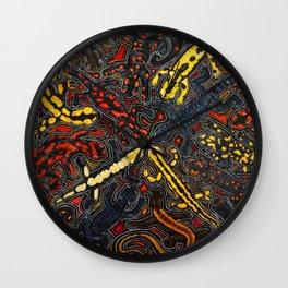 Salamanders Wall Clock