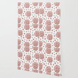 Rosette Bouquet Wallpaper