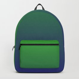 Ombre | Green and Blue Backpack