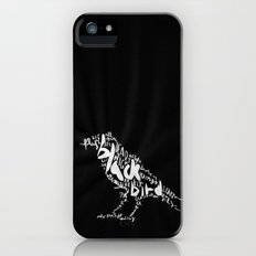 Black Bird iPhone (5, 5s) Slim Case