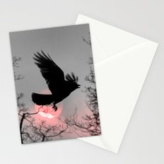 Pink Ribbon Sky Stationery Cards